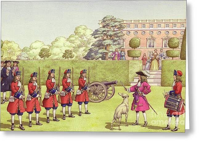 The Young Duke Of Gloucester Had His Own Army To Play With Greeting Card by Pat Nicolle
