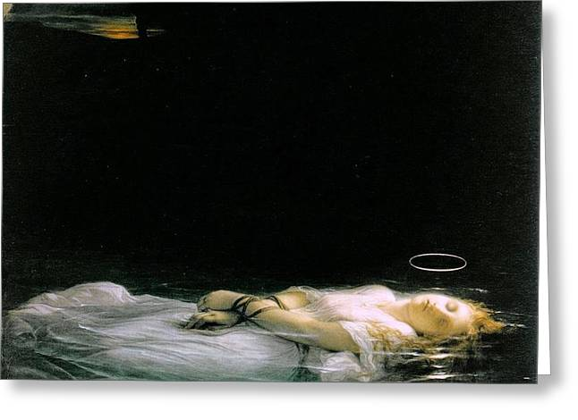The Young Martyr  Greeting Card by MotionAge Designs