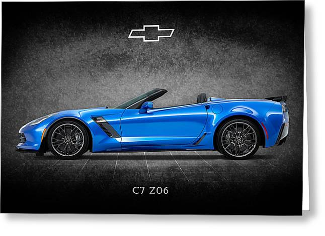 The Z06 Greeting Card