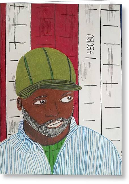 Theaster Gates Greeting Card by William Douglas
