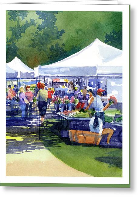 Theinsville Farmers Market Greeting Card