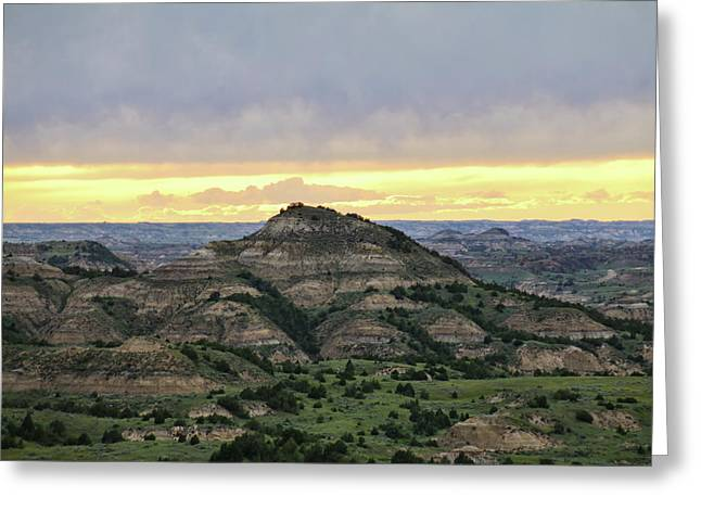 Theodore Roosevelt National Park, Nd Greeting Card