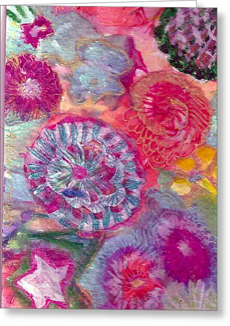 There Is A Whole Lot To See At The Bottom Of The Sea Greeting Card by Anne-Elizabeth Whiteway