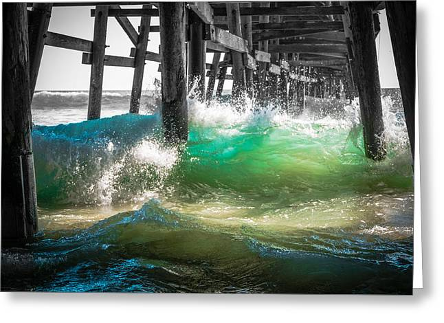 There Is Hope Under The Pier Greeting Card by Scott Campbell