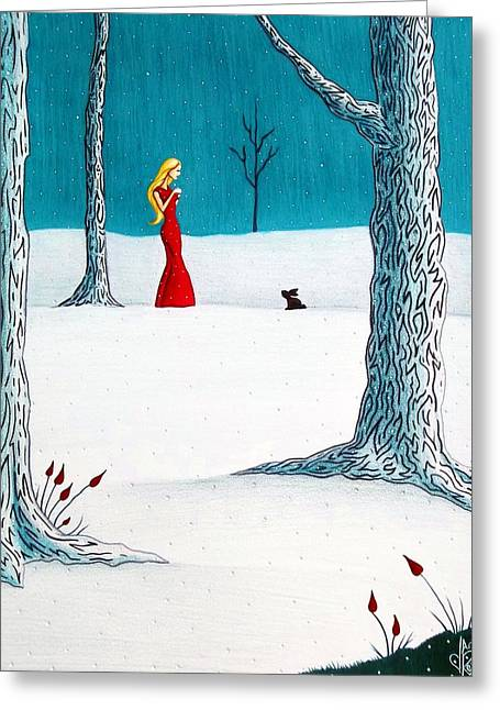 There's Always Hope Greeting Card by Danielle R T Haney