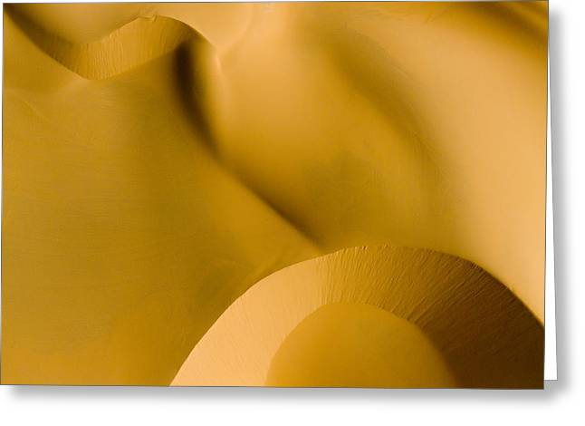 These Luscious Dunes Are Located Greeting Card by Michael Fay