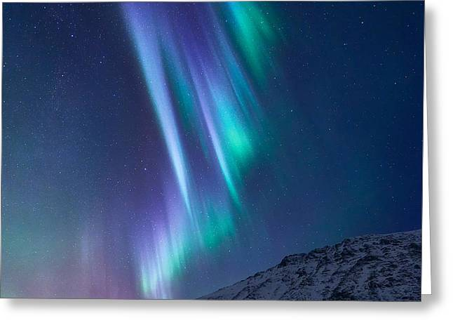 These Small Hours Greeting Card by Tor-Ivar Naess