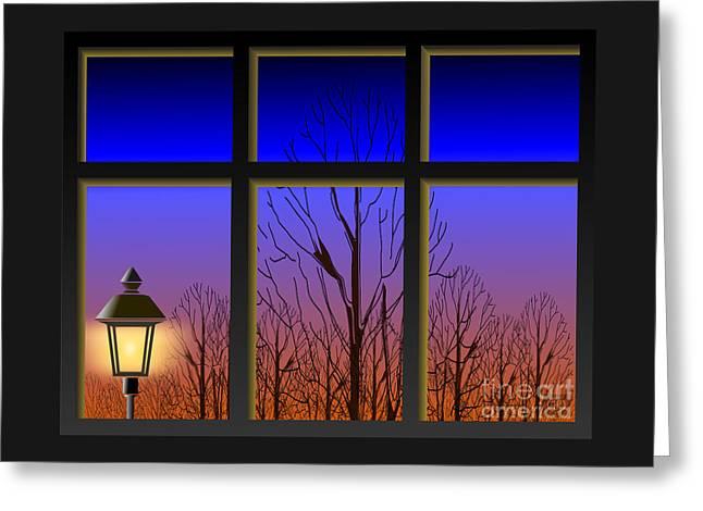 The Window II Greeting Card