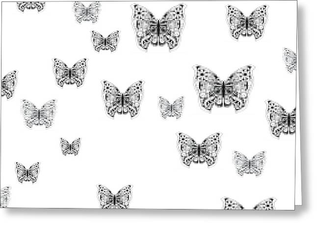They Might Be Butterflies Greeting Card