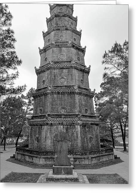 Thien Mu Pagoda Greeting Card