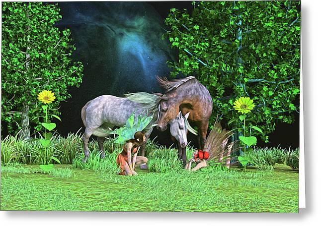 Thimbles Greeting Card by Betsy Knapp