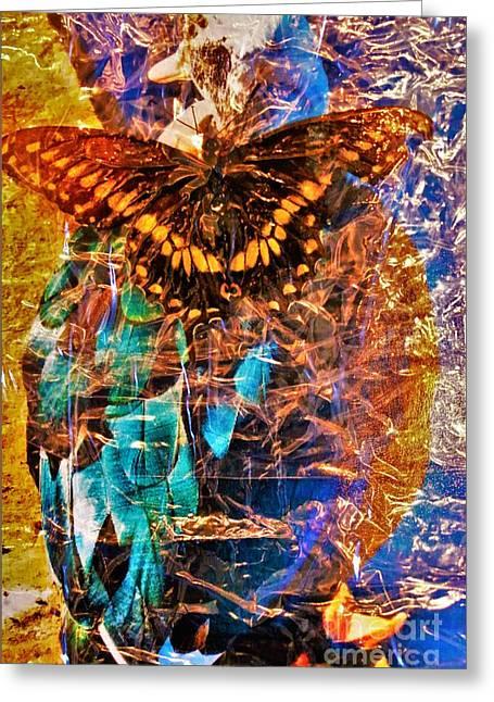 Things That Fly 1 Greeting Card by Barbara Donovan