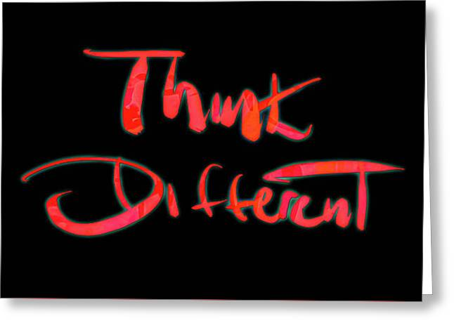 Think Different 1c Greeting Card