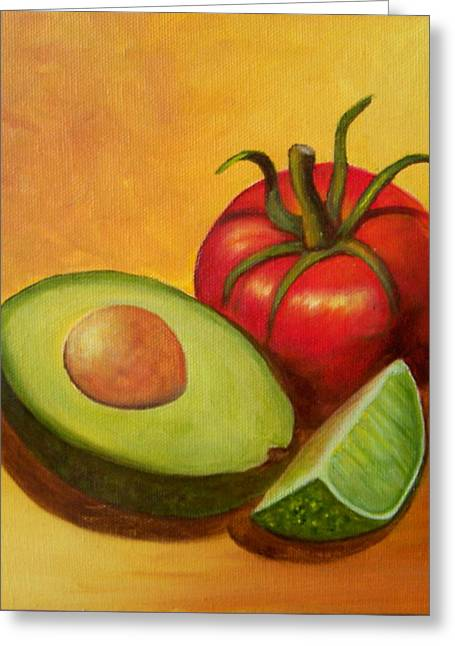 Think Guacamole - Sold Greeting Card