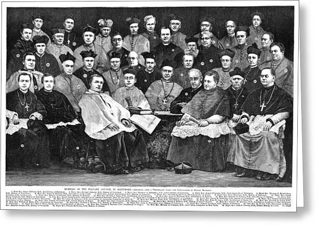 Third Plenary Council, 1884 Greeting Card