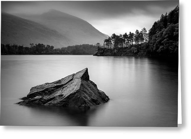 Thirlmere Greeting Card by Dave Bowman