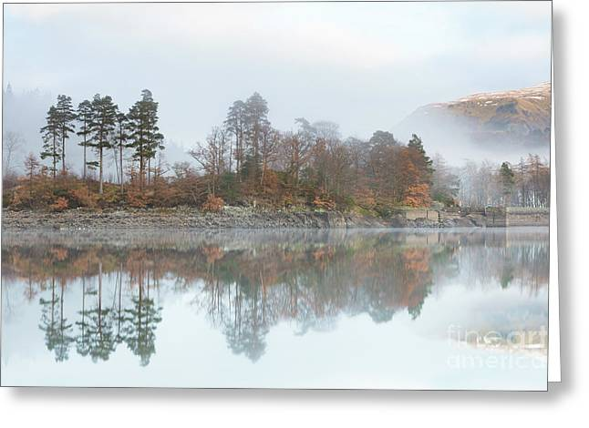 Thirlmere Reflections Greeting Card by Tony Higginson