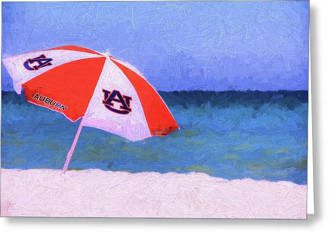 This Is Auburn Greeting Card by JC Findley