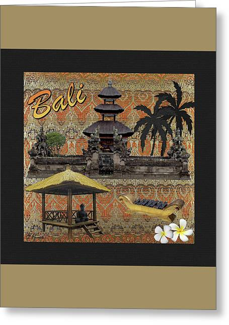 This Is Bali 2 Greeting Card