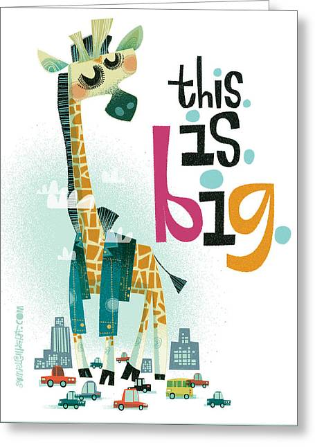 This. Is. Big. Greeting Card