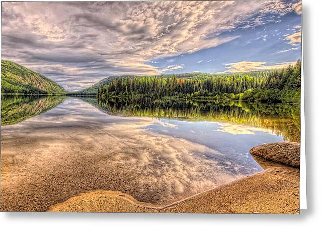 This Is British Columbia No.28 - Conkle Lake Greeting Card by Paul W Sharpe Aka Wizard of Wonders