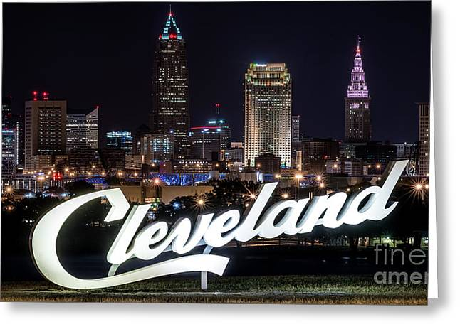 This Is Cleveland Upper Edgewater Greeting Card by Frank Cramer