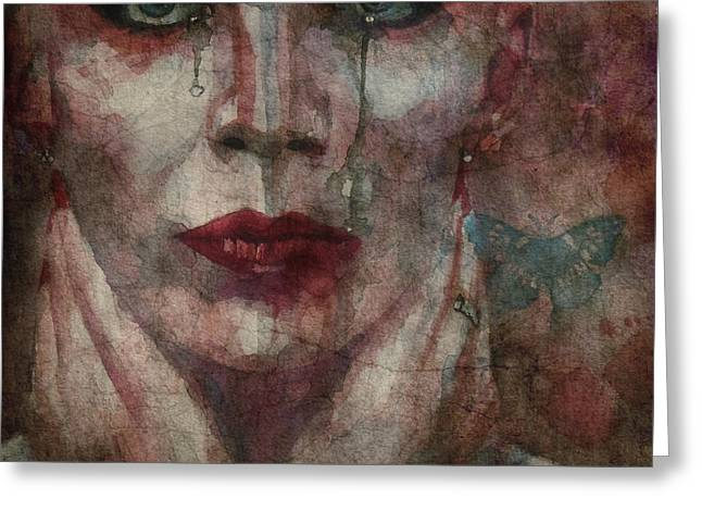 This Is Fear This Is Dread These Are The Contents Of My Head @2 Greeting Card by Paul Lovering