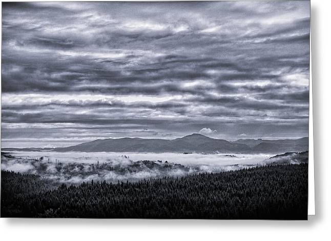 This Is Oregon State No.22 - Above The Clouds Greeting Card by Paul W Sharpe Aka Wizard of Wonders