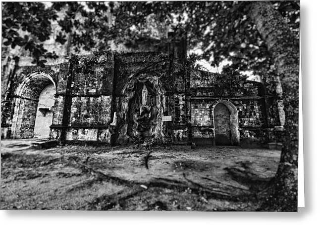This Is The Philippines No.10 - San Juan Nepomuceno Church Greeting Card by Paul W Sharpe Aka Wizard of Wonders