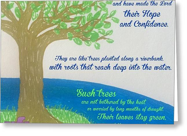 "This Is What The Lord Says: ""cursed Greeting Card"