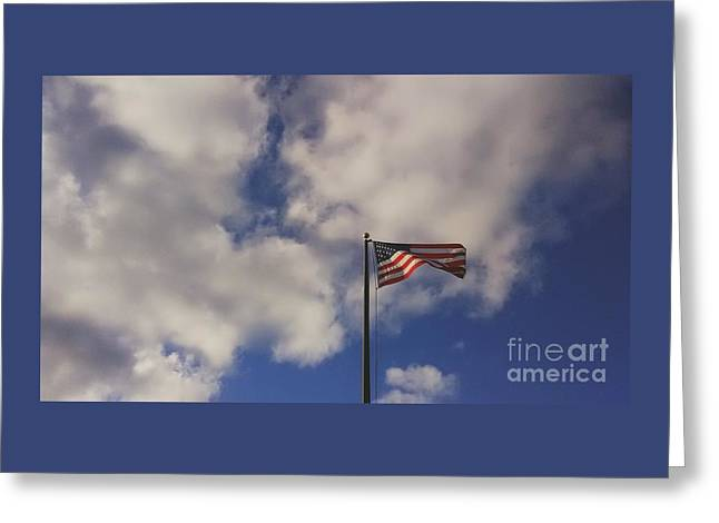 This Land Was Made For You And Me Greeting Card by Frank J Casella