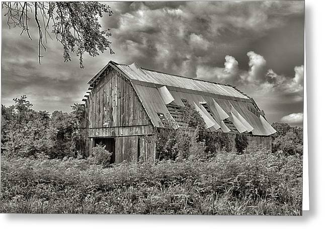 This Old Barn Greeting Card by Don Spenner