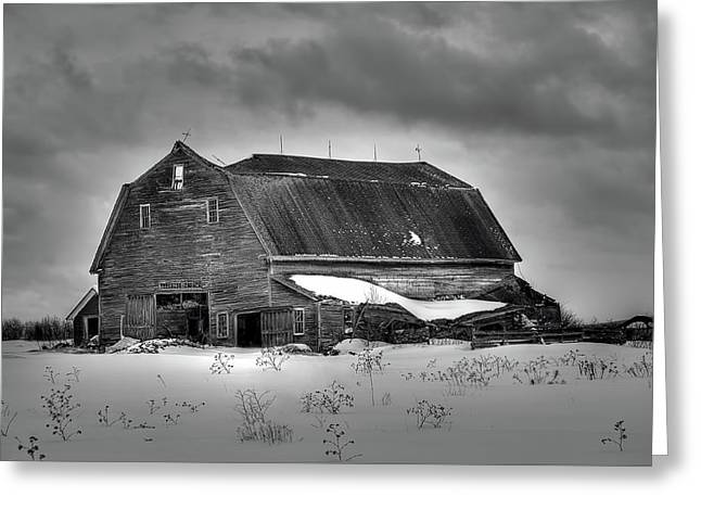 Recently Sold -  - Old Maine Barns Greeting Cards - This Old Barn Greeting Card by Gary Smith