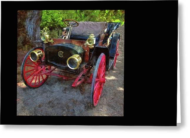 Greeting Card featuring the photograph This Old Car by Thom Zehrfeld