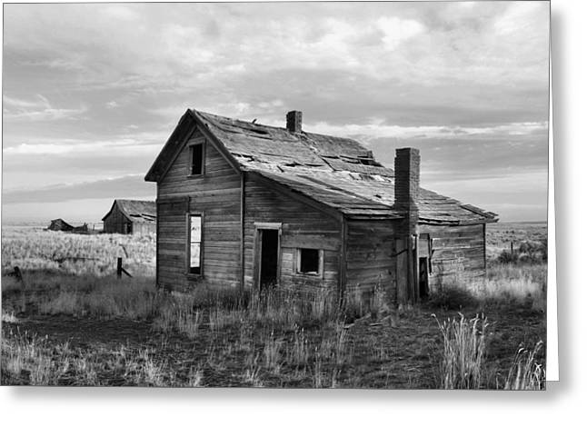 This Old House Greeting Card by Jim Walls PhotoArtist
