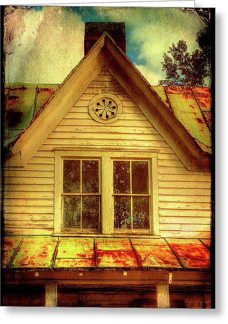 This Old House Greeting Card by Mike Eingle