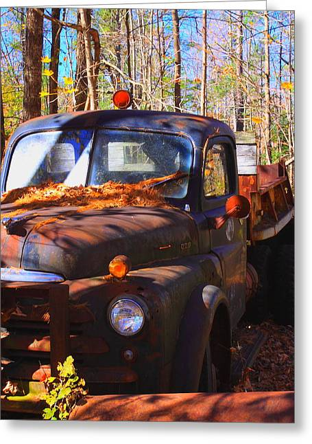 This Old Truck Greeting Card by Tom Johnson