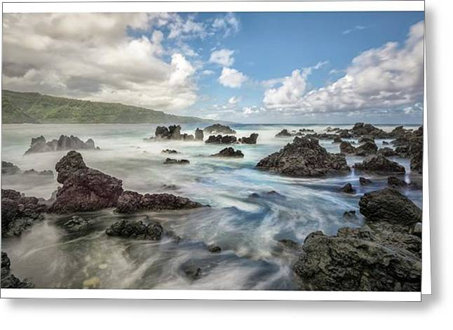 This Photograph Was Captured On The Greeting Card by Jon Glaser
