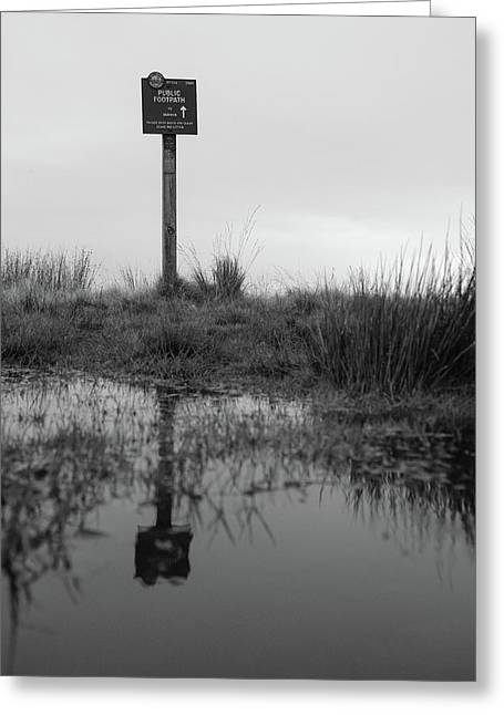 Greeting Card featuring the photograph This Way To Darwen by RKAB Works