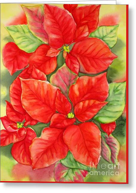 This Year's Poinsettia 1 Greeting Card