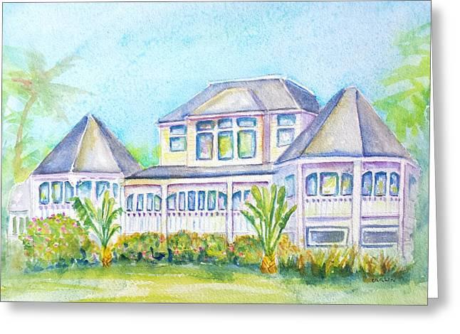 Thistle Lodge Casa Ybel Resort  Greeting Card by Carlin Blahnik