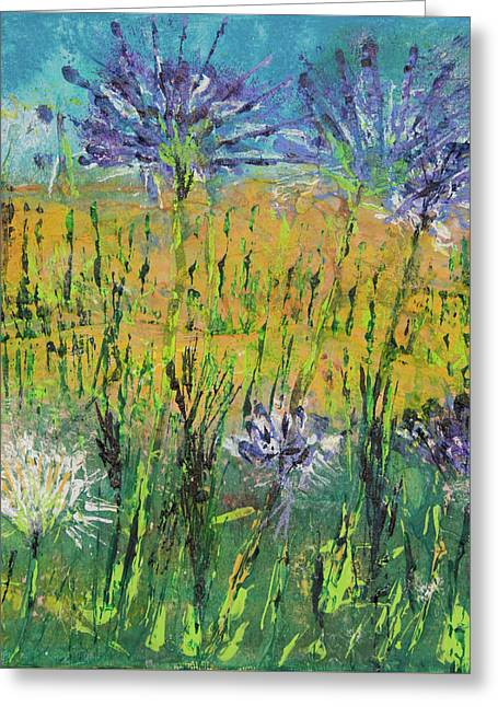 Thistles Too Greeting Card