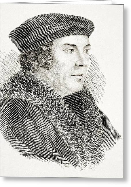 Cromwell Greeting Cards - Thomas Cromwell Earl Of Essex Baron Greeting Card by Ken Welsh