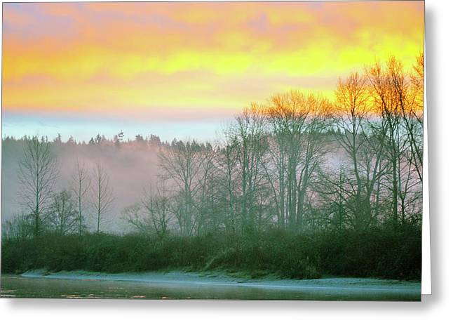Thomas Eddy Sunrise Greeting Card