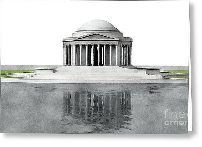 Thomas Jefferson Memorial, Washington Greeting Card