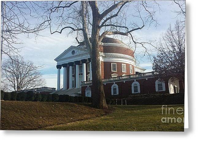 Thomas Jefferson's Rotunda Greeting Card