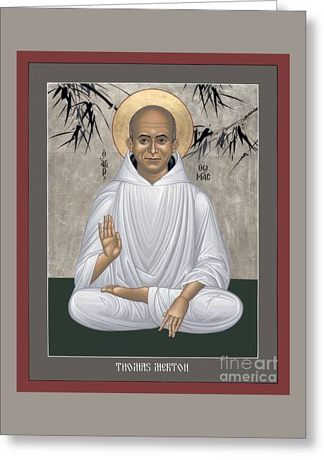 Thomas Merton - Rltmr Greeting Card