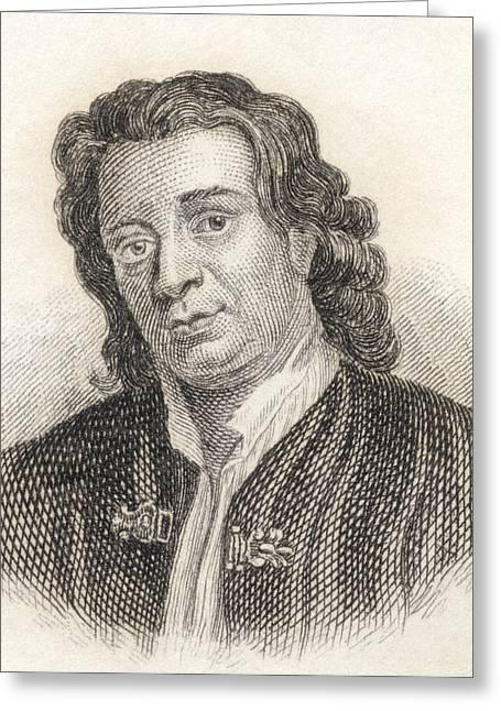 Thomas Otway, 1652 To 1685. English Greeting Card