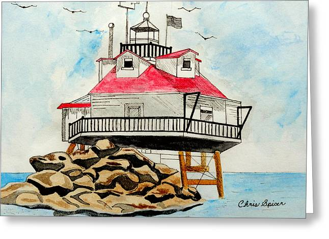 Thomas Point Lighthouse Greeting Card