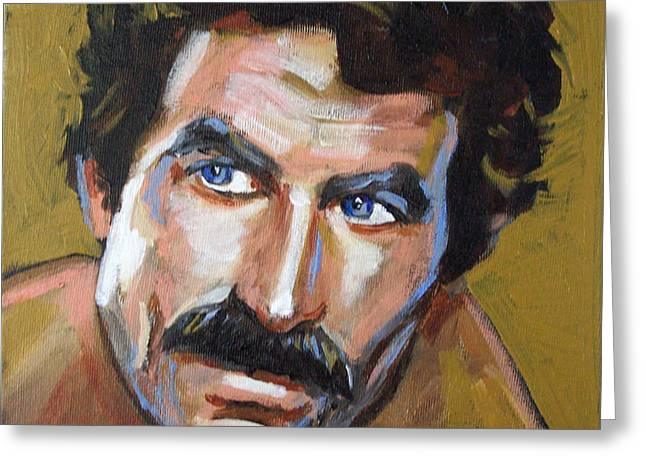 Thomas Sullivan Magnum Iv Greeting Card by Buffalo Bonker